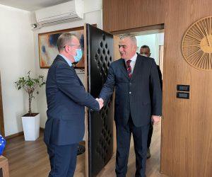 Ne kuader te prezanitimit te ofertes turistike ,sot jam pritur nga kryetari i komunes se Gostivarit Z.Arben Taravari