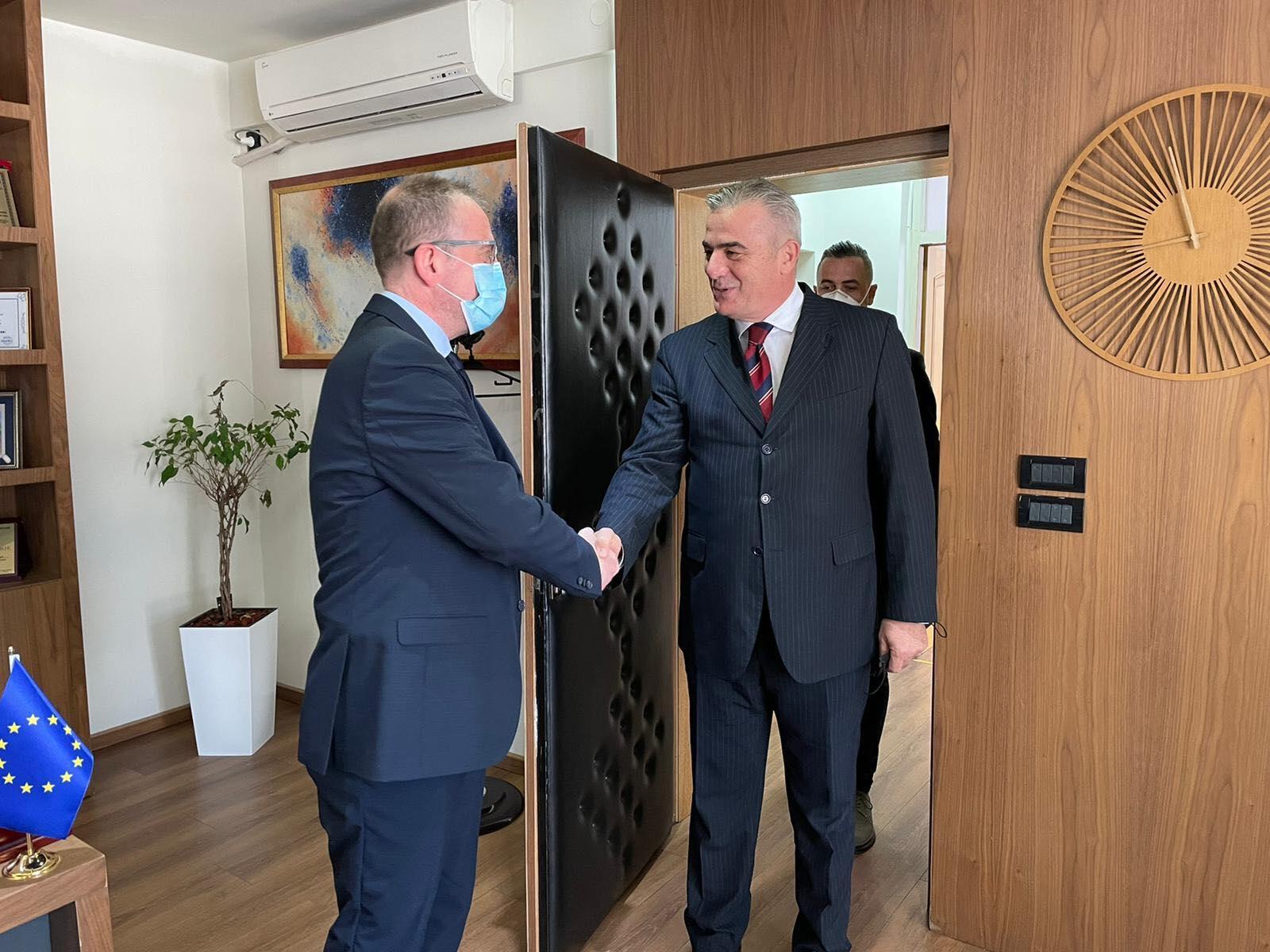 Read more about the article Ne kuader te prezanitimit te ofertes turistike ,sot jam pritur nga kryetari i komunes se Gostivarit Z.Arben Taravari