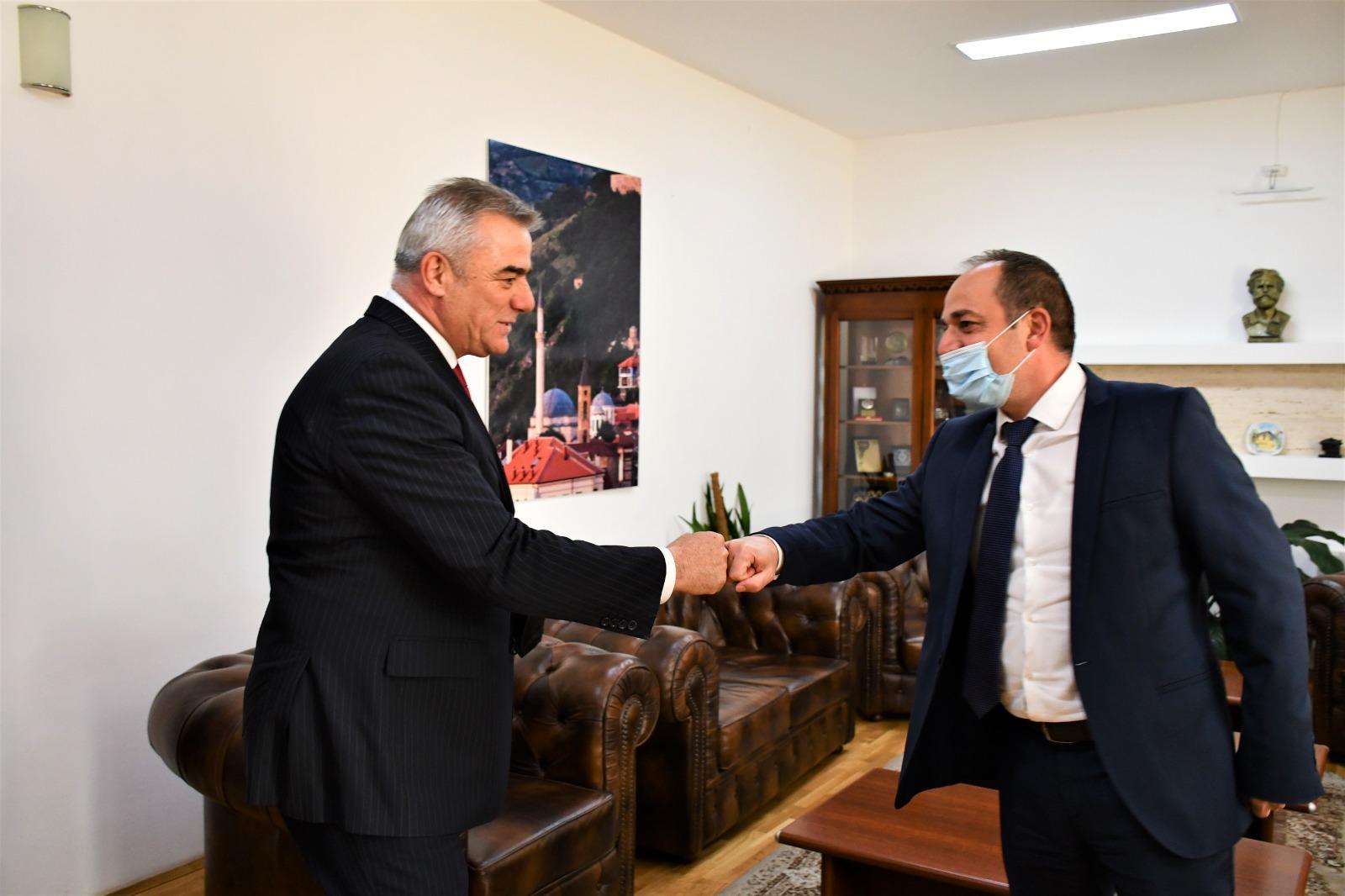 Vizitë komunës së Prizrenit Posjeta Opstine Prizren
