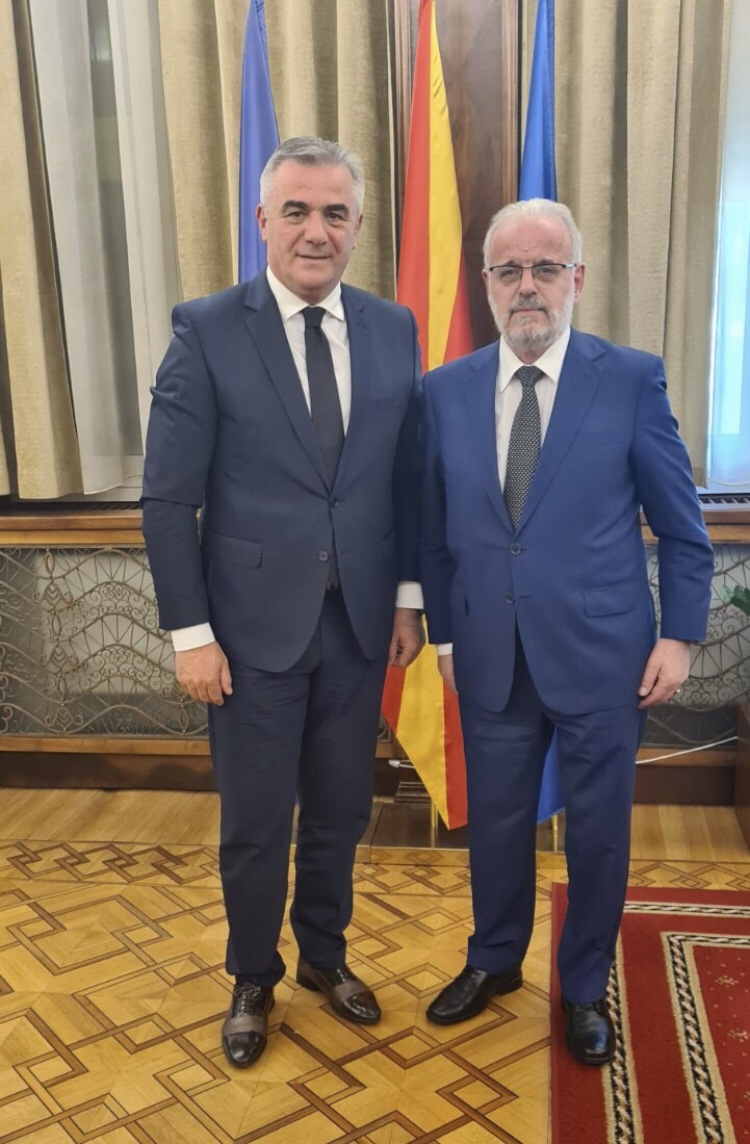 Ne kuader te provimit te ofertes turistike ne Maqedorin e Veriut ,takimi me kryeparlamentarin Z.Talat Xhaferi
