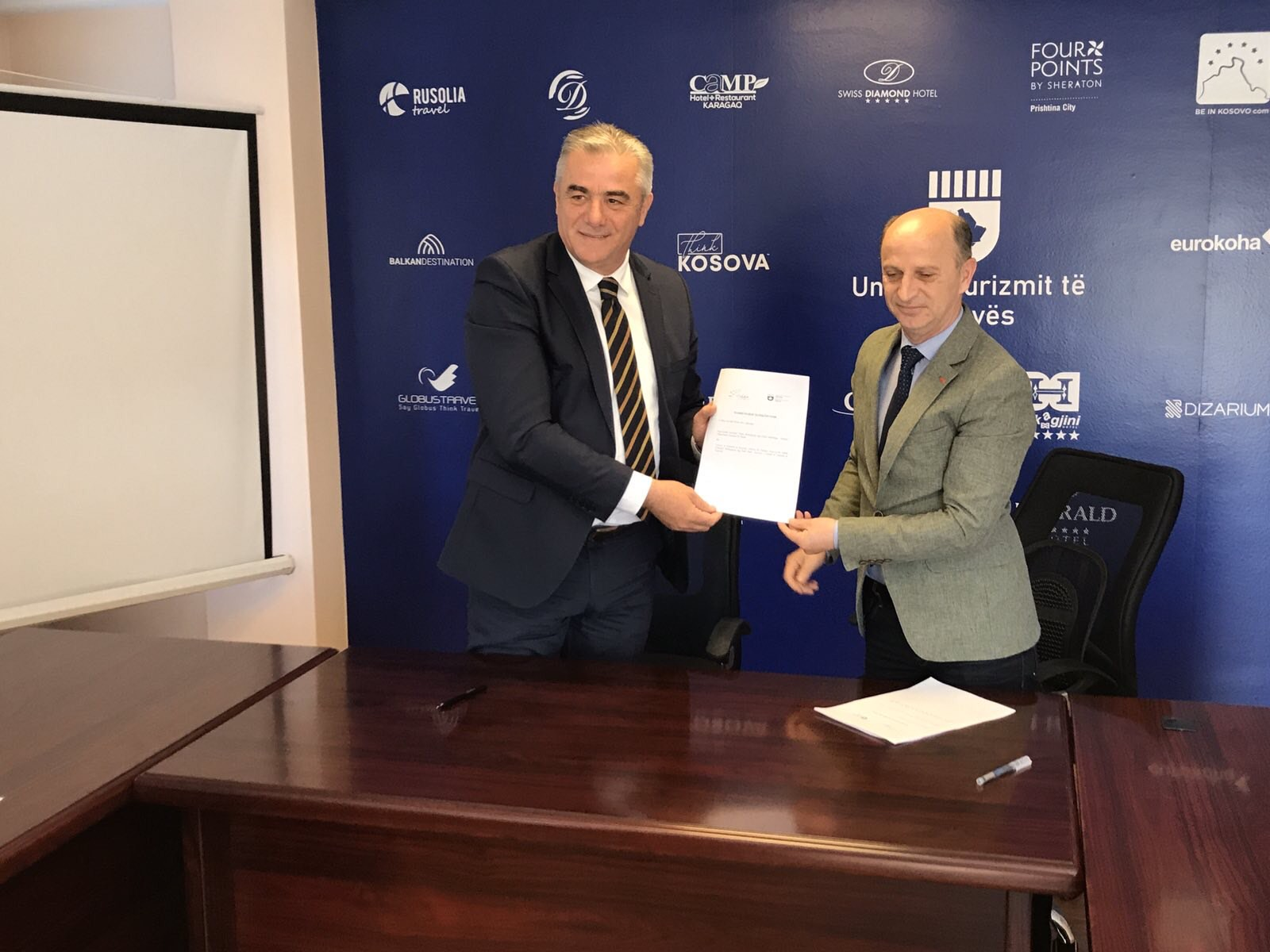 Ne kuader te qendrimit ne Kosove me qellim te prezentimit te ofertes turistike te vitit 2021 per Ulqinin