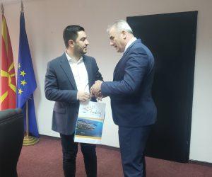 Takimi i radhës me ministrin e ekonomisë dhe turizmit në Republikën e Maqedonisë së Veriut  Z.Kreshnik Bekteshi