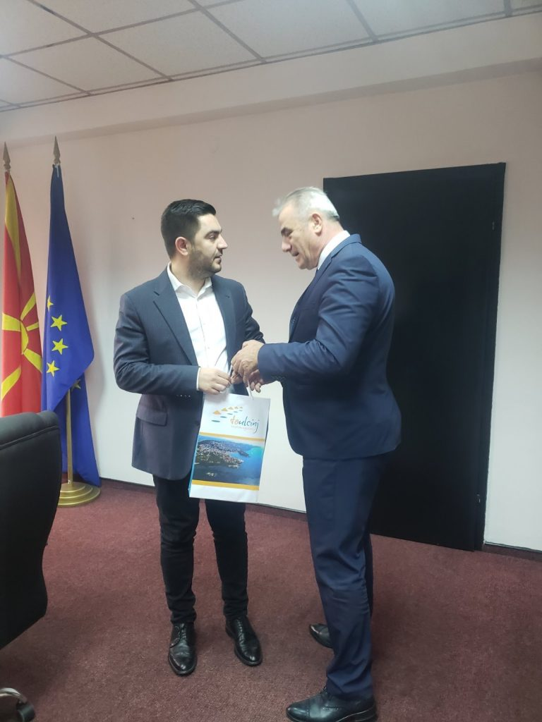 Read more about the article Takimi i radhës me ministrin e ekonomisë dhe turizmit në Republikën e Maqedonisë së Veriut  Z.Kreshnik Bekteshi