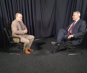 Nga intervista në studio tv Klan Maqedonia