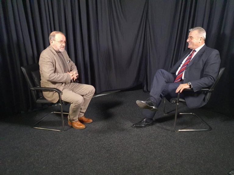 Read more about the article Nga intervista në studio tv Klan Maqedonia