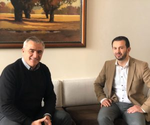 Takimi i sotëm në kuadër të prezantimit të ofertës turistike me Z.Suhejl Fazliu   ish- minister i pushtetit lokal në Maqedonin e Veriut.