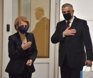 Takimi me kryetaren e Komunës së Tetovës Znj.Teuta Arifi