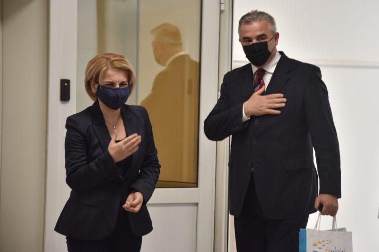 Read more about the article Takimi me kryetaren e Komunës së Tetovës Znj.Teuta Arifi