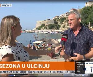 Drejtori i Organizatës Turistike të Ulqinit në Emision e Mëngjesit Mirëmëngjes Mali i Zi
