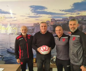 Takim me përfaqësuesit e kombëtares së Shqipërisë